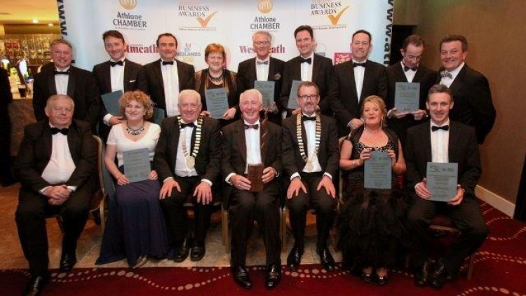 Athlone Business Awards winners