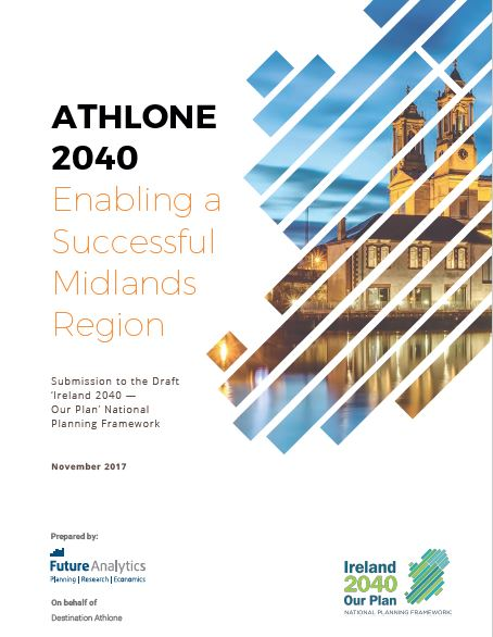 Athlone has made a new submission to the Government in response to the Draft NPF 2040 Plan