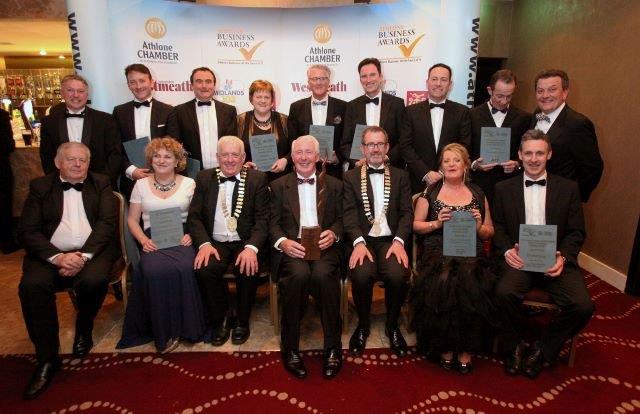 Athlone Business Awards winners