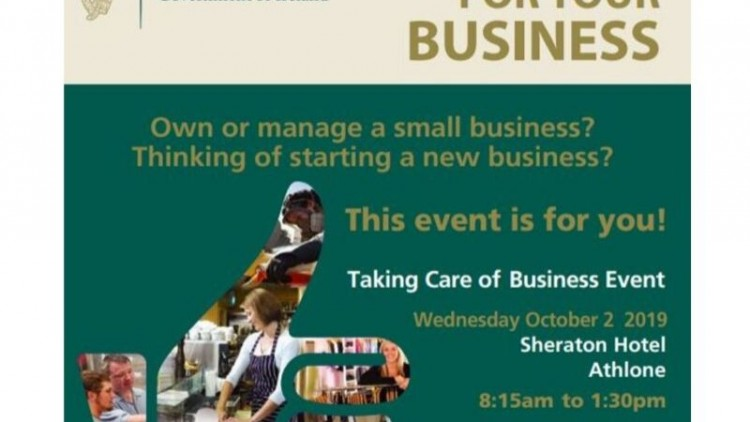 Taking Care of Business event – October 2nd