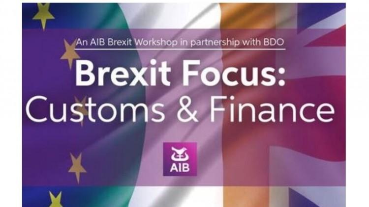 Brexit Workshop on Customs and Finance – 1st October