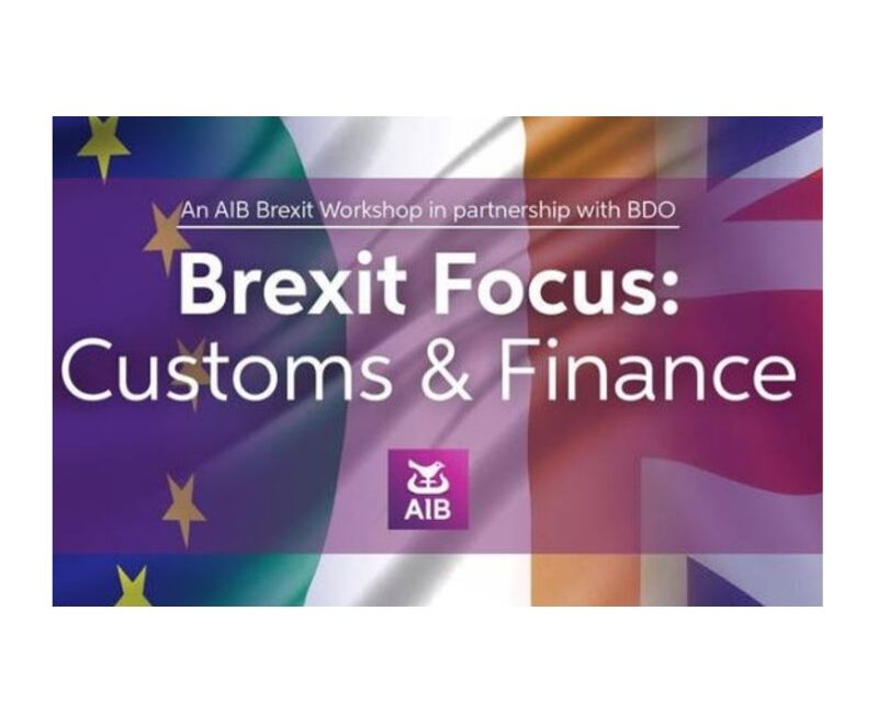 Brexit Workshop on Customs and Finance – 1st October